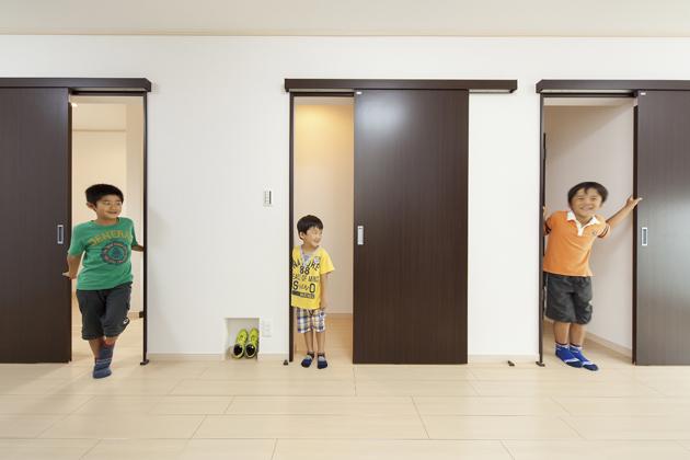 お子様と部屋