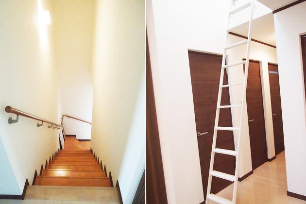 階段・ロフトのはしご